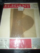 Echte Vintage Nylons Nylonstrümpfe Perlons Gr. 9,5 saskia 20 den ELEGANT OVP