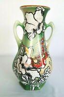 "Royal Nishiki Nippon Hand Painted 12"" Porcelain Vase"