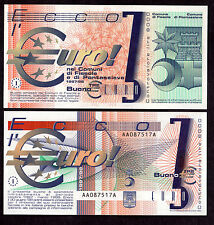 BANCONOTA 3 EURO COMUNI FIESOLE PONTASSIEVE Banknote Pre Euro Specimen