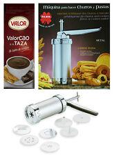 Churros Making Machine + 1kg Valor Chocolate Powder Taza
