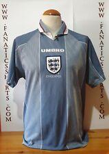 Seleccion Inglaterra 1995 Camiseta futbol Umbro Away Shirt Trikot Maglia