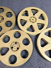 Pack of Plastic 35mm 14.5 inches 2000ft. Vintage Film Reels (Grey or Color*) (5)