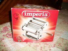 Imperia dal 1932 Chrome Noodle Pasta Maker Machine In Open Box