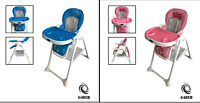 G4RCE Brand New Foldable 3 n 1 Baby Infant Highchair Feeding Recliner Seat Chair
