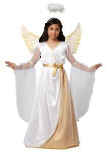 Girls Guardian Angel Costume SIZE XL (Used)