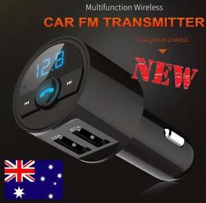 Wireless Bluetooth Car FM Transmitter Radio MP3 Player Charger USB AU