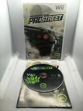 Need For Speed Pro Street - Complete CIB -Nintendo Wii