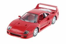 FERRARI F40 RED 1/24 SCALE DIECAST CAR BY BBURAGO 26016R