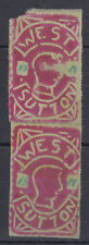 "West Sutton (School? ""Stamp"" Pair; SOLD AS SEEN; see both scans"
