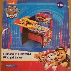 Nick Jr Paw Patrol Chair Desk TC85961PW