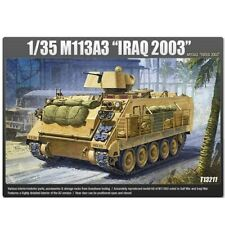 Academy 13211 M113A3 Iraq 2003 Combat Vehicle Car Millitary Assembly Model