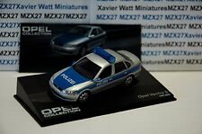 VOITURE OPEL COLLECTION N°91 OPEL VECTRA B POLIZEI 1995-2002 IXO EAGLE MOSS 1/43