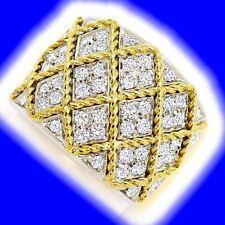 Markenlose Ringe aus mehrfarbigem Gold mit VS Reinheit