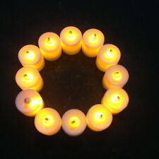 New 48Pcs LED Candel Light Tealights Battery Flickering Candles For Home Decor