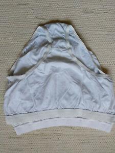2 weiße Damen-Unterhosen, Gr. 52 / 54
