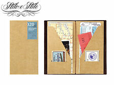 Midori Kraft File | Refill Midori 020 | Traveler's Notebook Regular Size