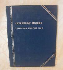 Jefferson Nickel Collection Starting 1938 Album 9009