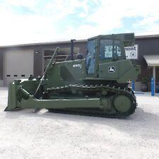2008 John Deere 850JR LT Dozer CLEAN LOW HOURS! Ex Military 850k 850j