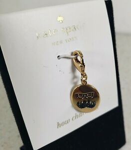 Kate Spade How Charming Glasses And Mustache Charm Bracelet