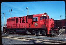Original Rail Slide - DT&I Detroit Toledo & Ironton 415 Flat Rock MI 4-15-1981
