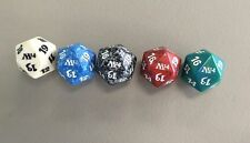 M14 Magic 2014 Core Set ALL 5 COMPLETE DICE SET Spindown Life Counter 20 Sided
