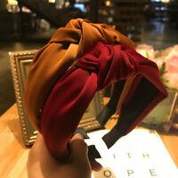Fashion Women's Fabric Hairband Knot Dot Headband Hair Hoops Hair Accessories