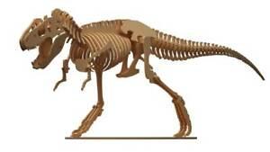 T-Rex Wooden Model