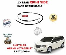 Pour Chrysler Grand Voyager 2.8 TD 2007 - > NEUF ARRIÈRE 1X Côté Droit Main Câble De Frein