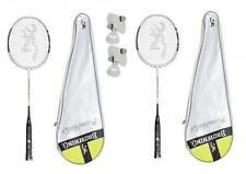 2 x Browning Platinum Nano 85 Badminton Rackets + 6 Carlton Shuttles RRP £530