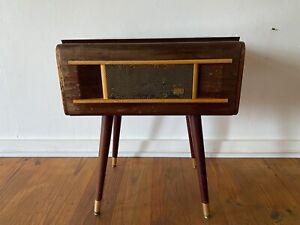 Funky Looking Vintage HMV Record Player/Radio Very RARE!