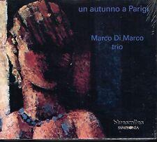 CD Album: Marco di Marco trio: un autunno a parigi. bluesmiles. D2