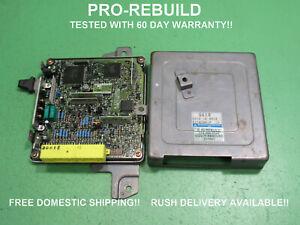 G618 90-93 MAZDA B2600i 2.6 ECU ECM PCM ENGINE COMPUTER G618 18 881 REBUILT 1203
