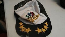 VINTAGE RARE INDIANAPOLIS MOTOR SPEEDWAY PATCH RACE trucker snapback HAT CAP