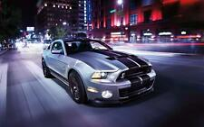 FORD Mustang American Muscle Car poster stampa foto di dimensioni a3