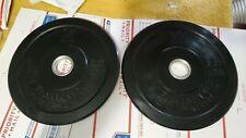 X Training  5LB Premium Black Bumper Olympic Plate Pair