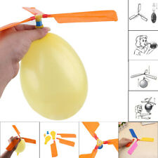 Funny Balloon Helicopter Flying Toy Child Birthday Xmas Party Stocking Filler US