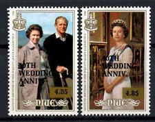 Niue 1987 SG#657-8 Royal Ruby 40th Wedding Anniversary MNH Set #A66604