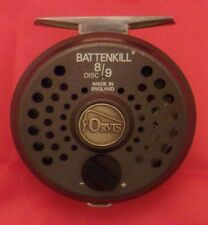 Orvis Battenkill 8/9 Fly Fishing Reel with Case and Line, England