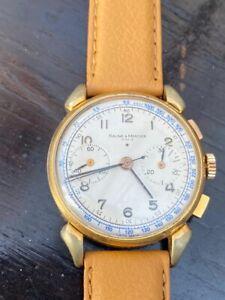vintage baume mercier watch