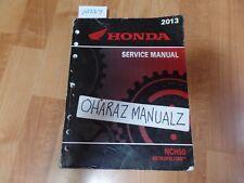 2013 HONDA NCH50 Metropolitan Service Manual OEM