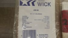 NEW! AMERICAN WICK Kerosene Heater Wick AW-24 NOS