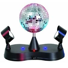 LumiSource Energy Saving Mirror Disco Ball Strobe, LS-MIR-MADNESS New