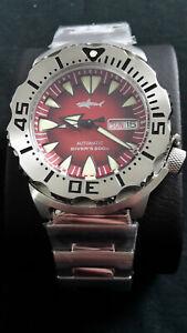 Heimdallr Monster Automatik Automatic Herren Uhr Diver Saphirglas Seiko NH36A