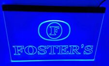 foster's Bar Beer pub club 3d signs Led Neon Sign blue