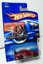 Hot Wheels 2006 First Editions #3 Nissan Silvia S15 Dark Red Faster Than Ever