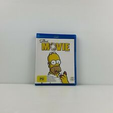 The Simpsons Movie Blu-Ray - FREE TRACKED POST