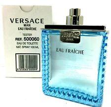 Eau Fraiche by Versace  3.4 oz EDT Men's Cologne No Cap Tester