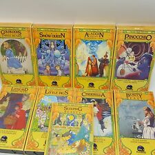 Faerie Tale Theatre VHS Lot 9 Tested 1980s Shelley Duvall 1983 1984 Videotape
