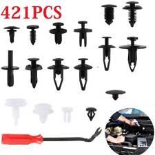 421pcs Car Body Push Pin Rivet Trim Panel Fastener Clip Moulding Assortment+Tool