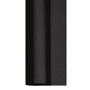 Tischdeckenrolle 25 m x 125 cm stoffähnlich Einweg Vlies Tischdecke Schwarz